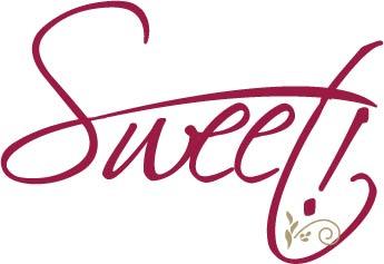 sweet logo red